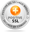 Positive SSL Secured by Comodo